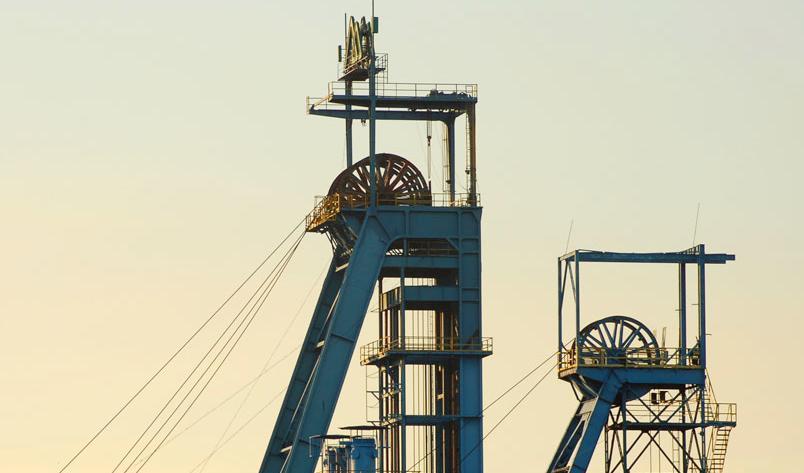 Těžební věže