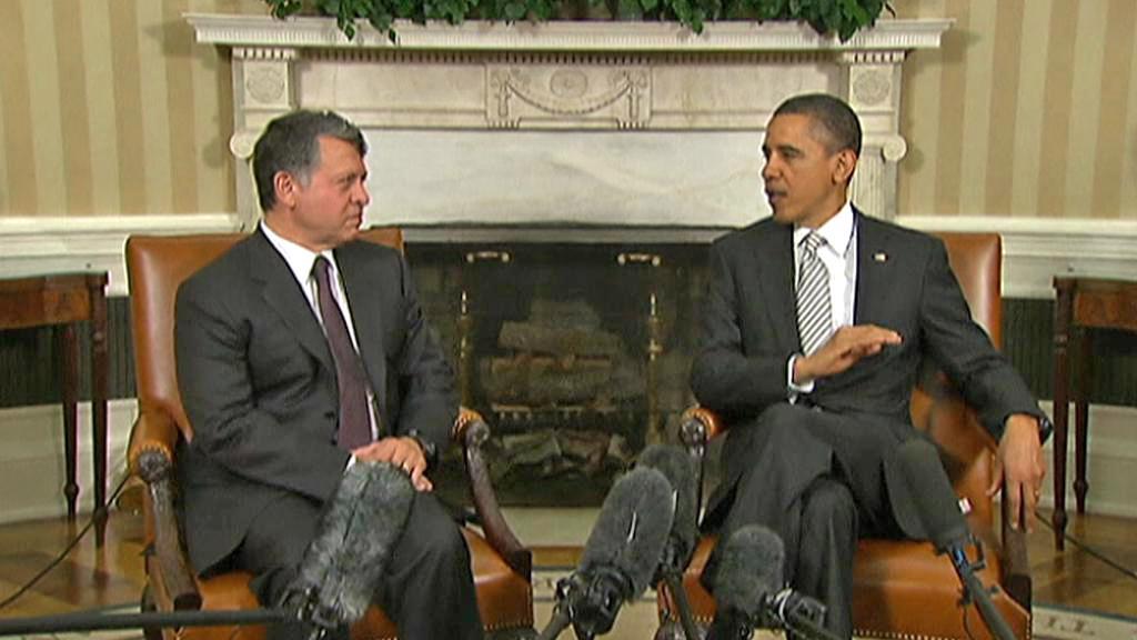 Barack Obama a Abdalláh II.