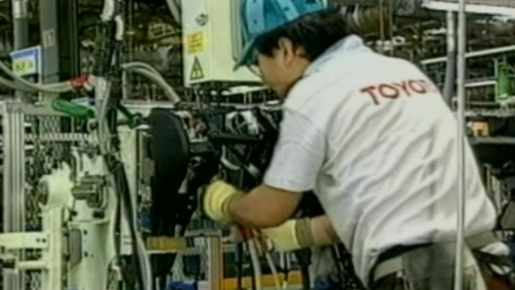 Výroba v automobilce Toyota