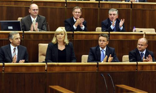 Slovenská vláda v parlamentu