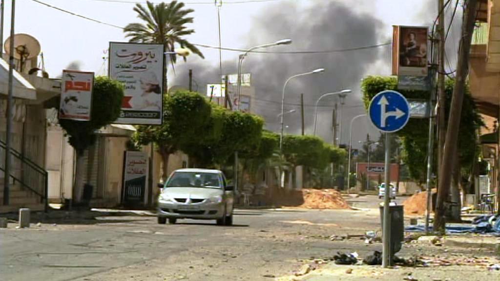 Zničená Libye