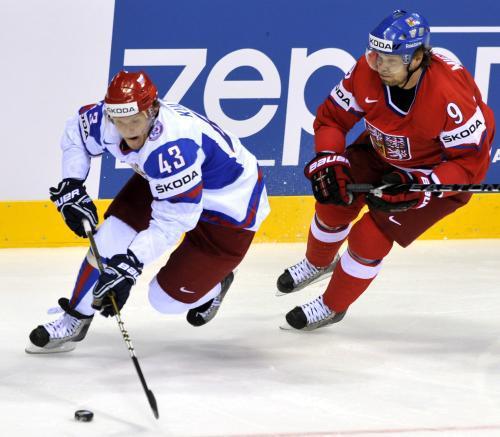 Utkání Česká republika - Rusko