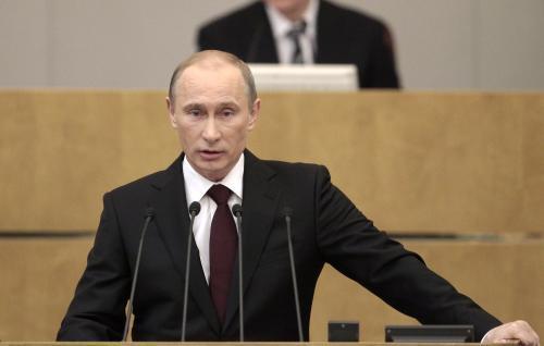 Ruský premiér Vladimir Putin