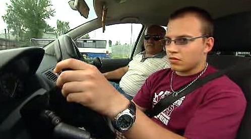 Žák v autoškole
