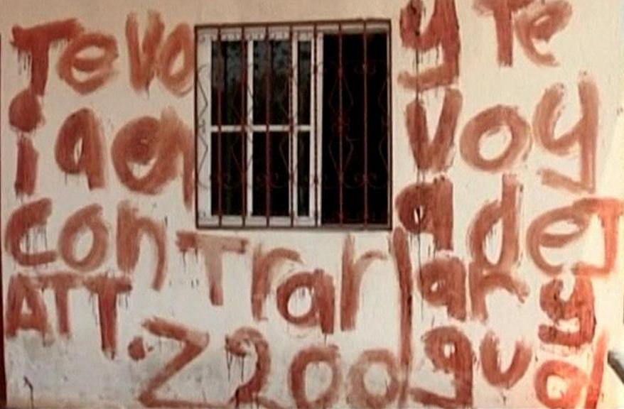 Dům oběti drogového kartelu