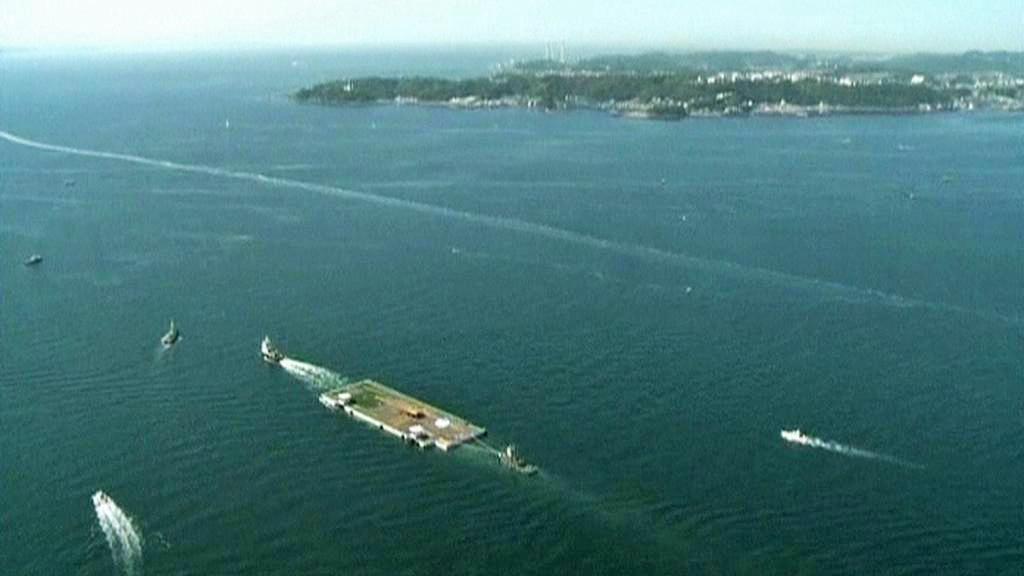 K Fukušimě míří námořní plošina
