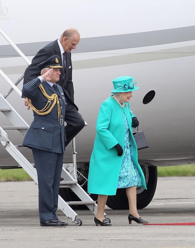 Alžběta II. přijela do Irska