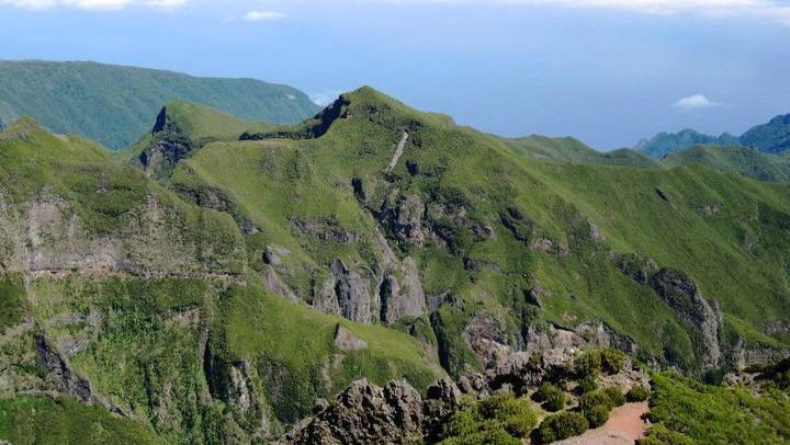 Pohled z Pico Ruivo