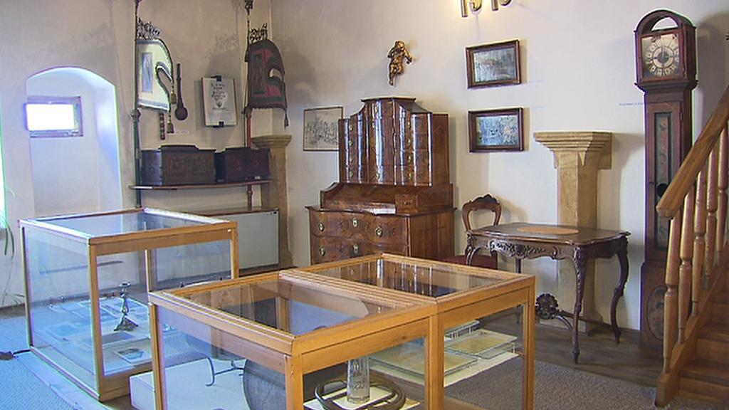 Interiér čelákovického muzea