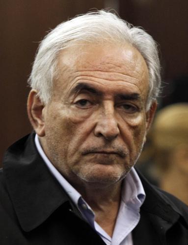 Dominique Strauss-Kahn u newyorského soudu