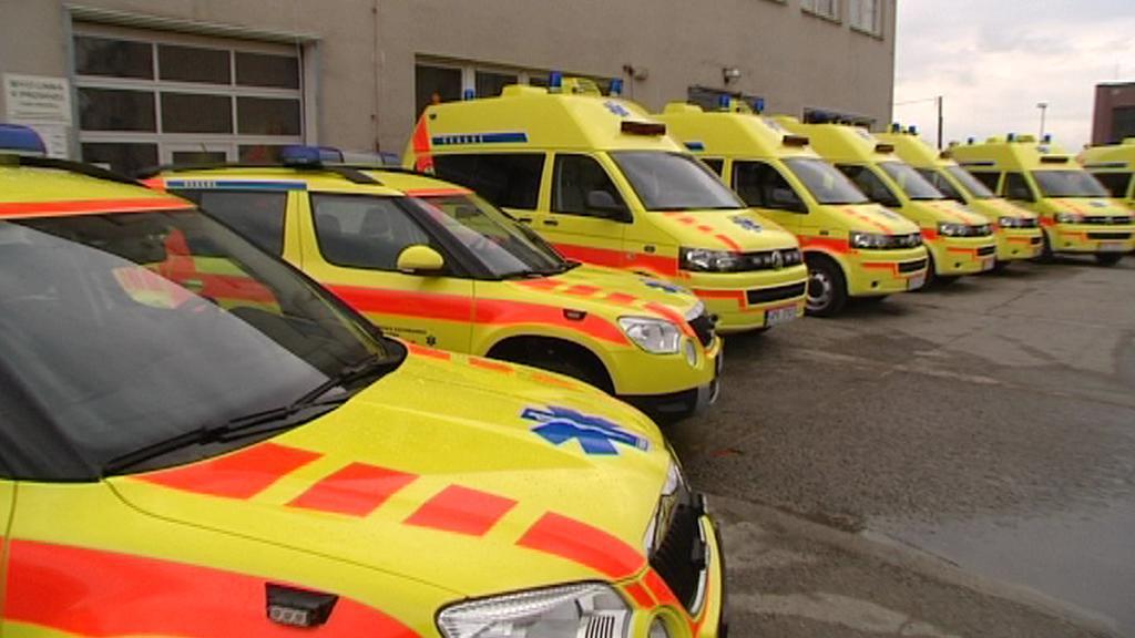 Nové sanitky plzeňských záchranářů