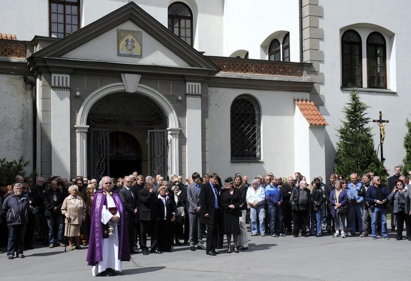 Pohřeb Iva Pešáka
