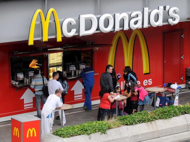Rychlé občerstvení McDonald\'s