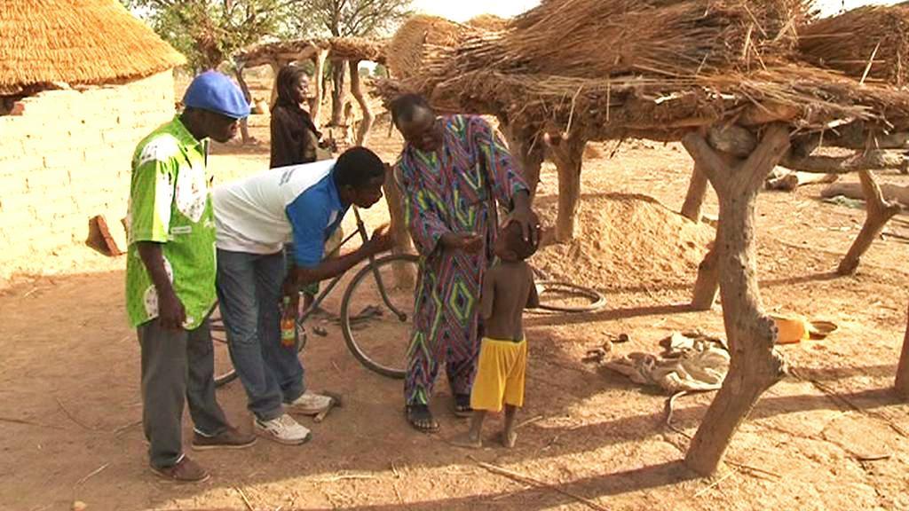 Charitativní činnost v Burkině Faso