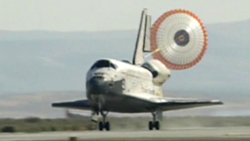 Přistání raketoplánu