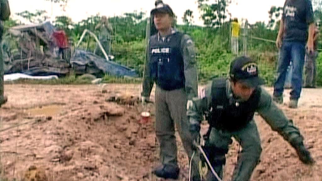 Výbuch zabil v Thajsku dva mnichy