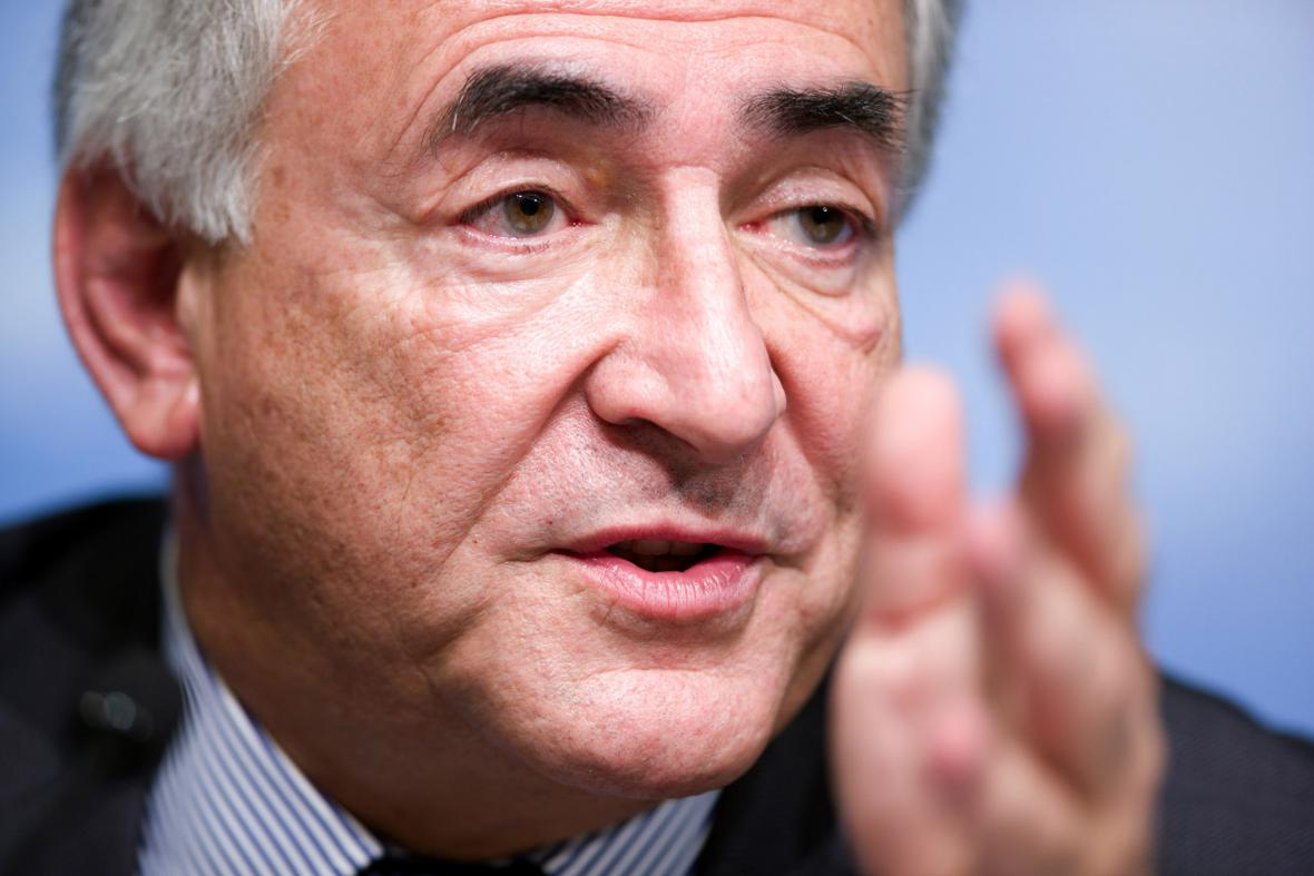 Dominique Strauss-Kahn, předseda MMF