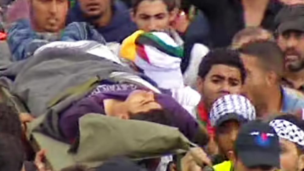 Oběť palestinských demonstrací