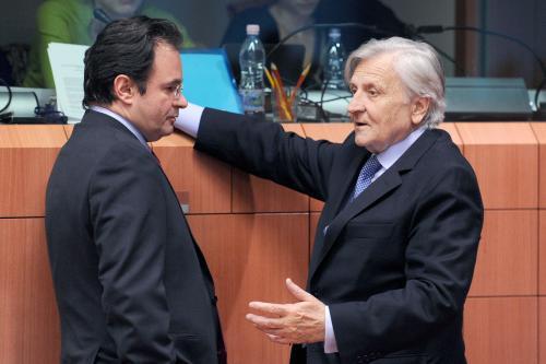 Papakonstantinu a Trichet