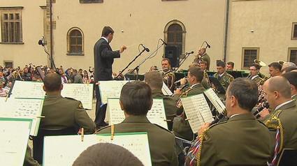 Koncert vojenské hudby