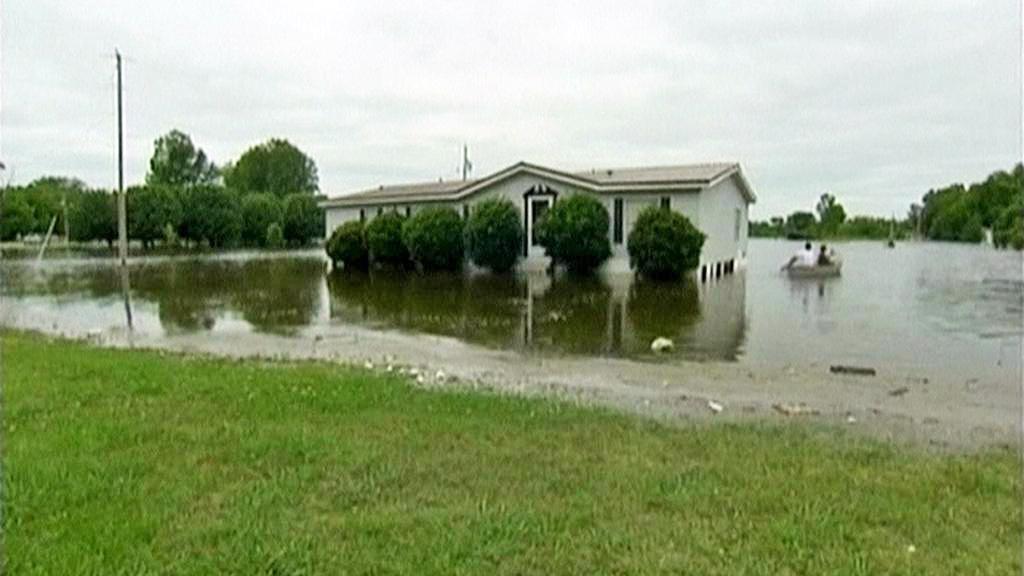 Záplavy na Mississippi