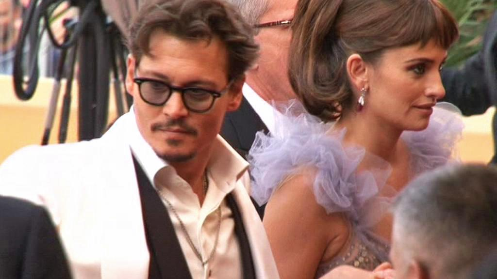 Johnny Depp na festivalu v Cannes