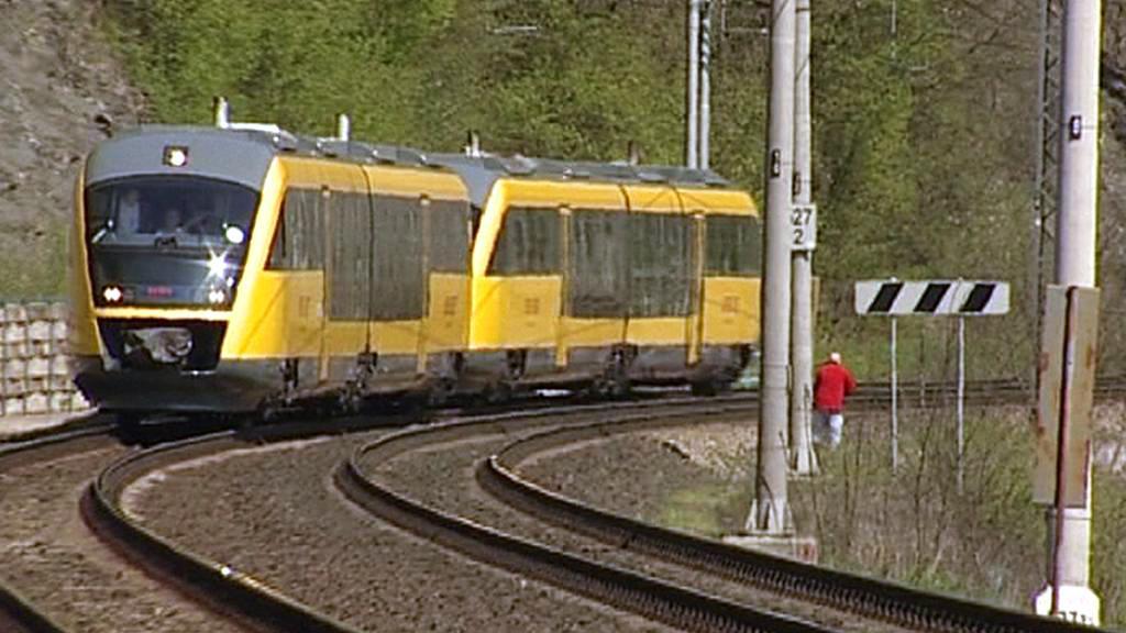 Vlak společnosti RegioJet