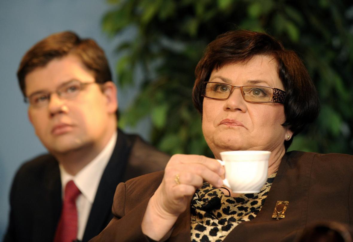 Jiří Pospíšil a Marie Benešová