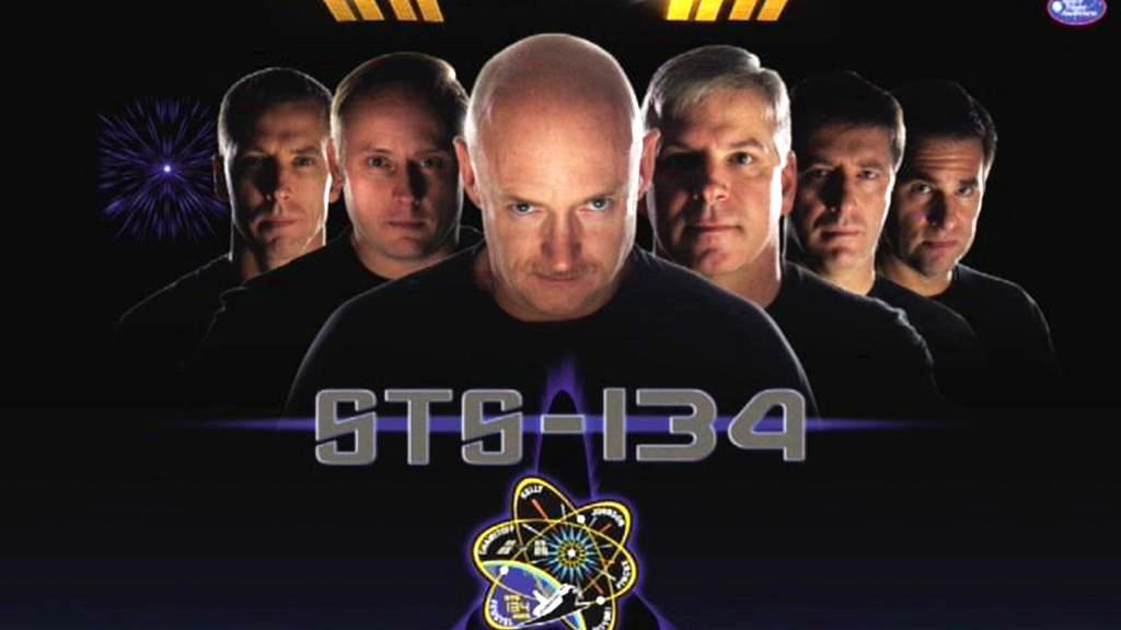 Oficiální plakát mise raketoplánu Endeavour