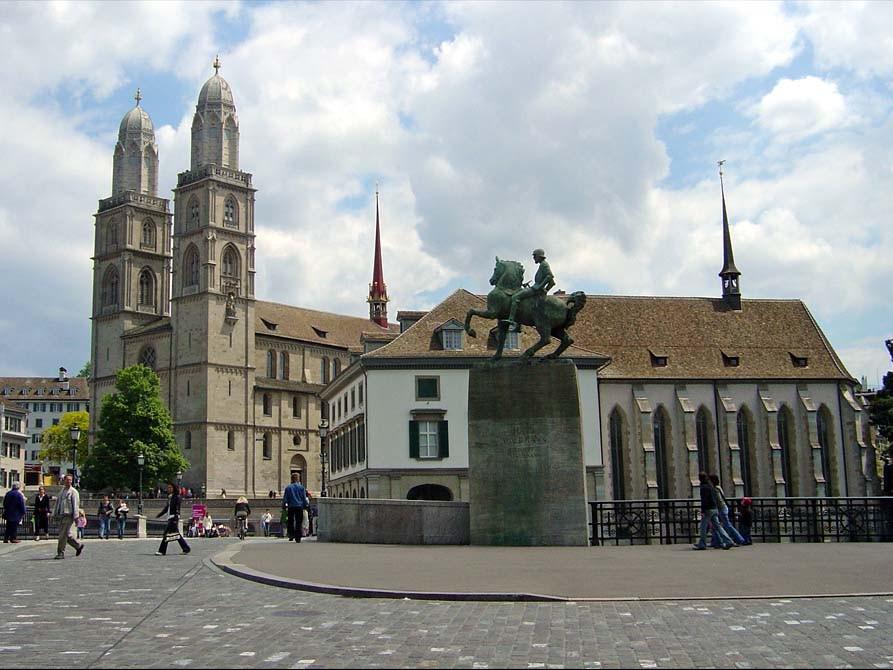 Historické centrum Curychu