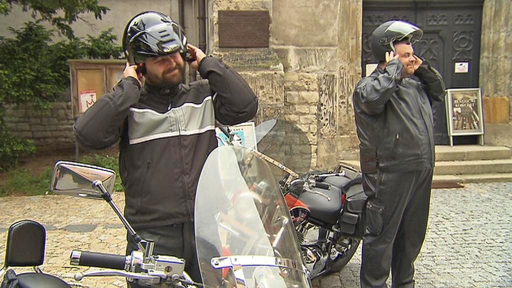 Faráři Jacek Zyzak a Miroslav Matenko jsou vášnivými motorkáři