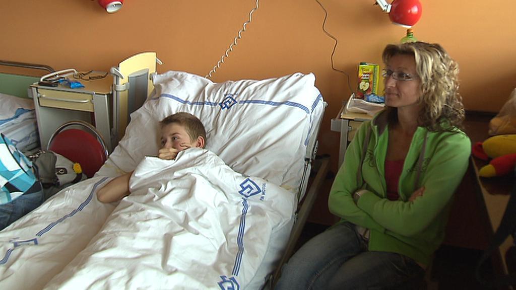 Hospitalizované dítě