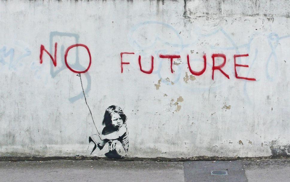 Banksy / No Future