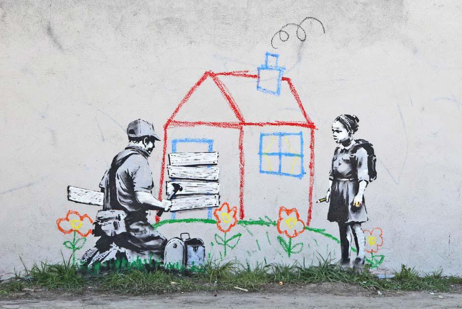 Z Banksyho tvorby
