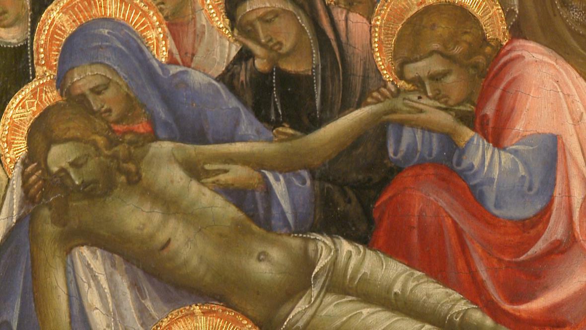 Lorenzo Monaco / Oplakávání Krista