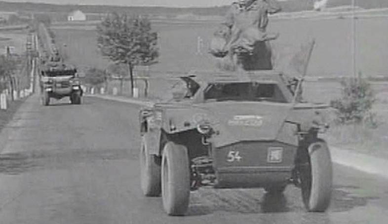 Osvobození Chebu americkou armádou