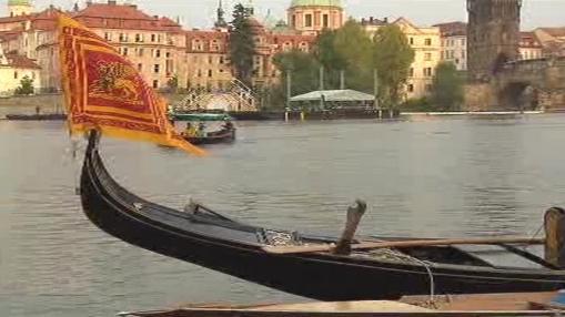 Gondoly na Vltavě