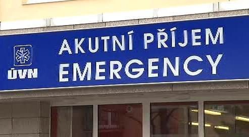 Akutní příjem ve střešovické nemocnici