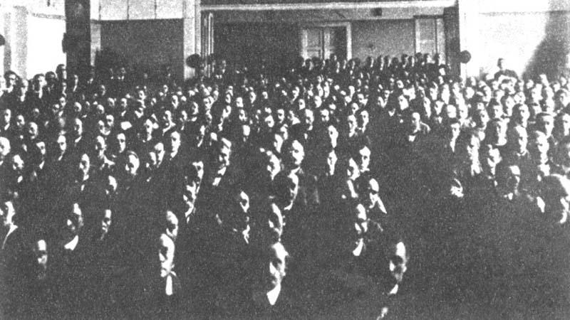 Ustavující sjezd KSČ 1921