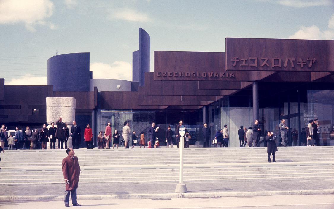 Pavilon ČSSR na EXPO 70 v Ósace