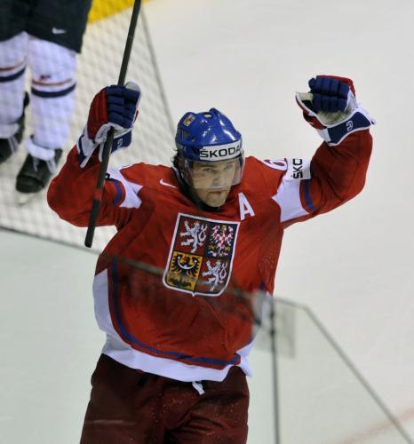 Jaromír Jágr slaví gól