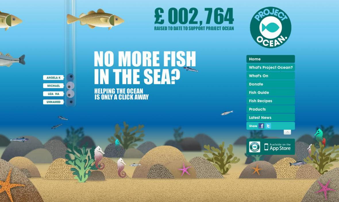 Kampaň Selfridges na záchranu ryb
