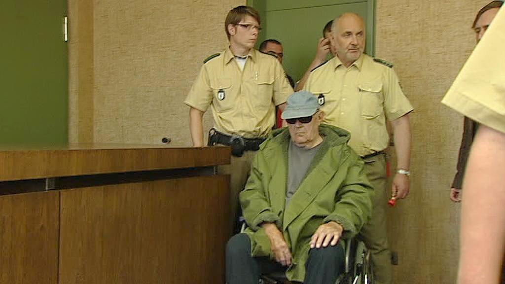 John Demjanjuk u soudu