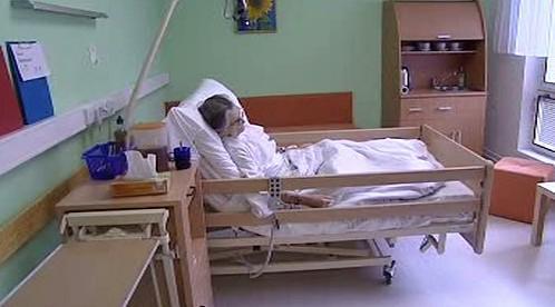 Pokoj v hospicu