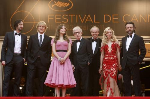 Cannes 2011 / herci a tvůrci filmu Půlnoc v Paříži
