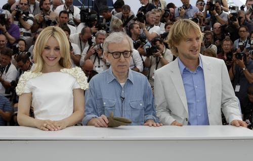 Cannes 2011 / Rachel McAdamsová, Woody Allen a Owen Wilson