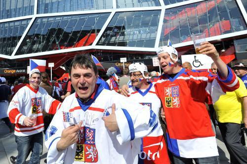 Čeští hokejoví fandové