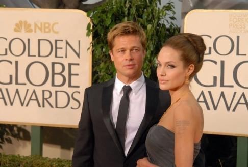Brad Pitt a Angelina Jolieová