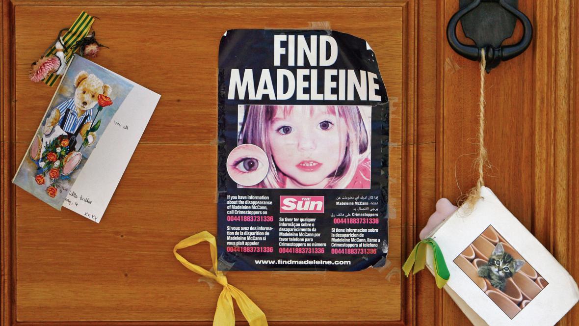 Pátrání po Maddie