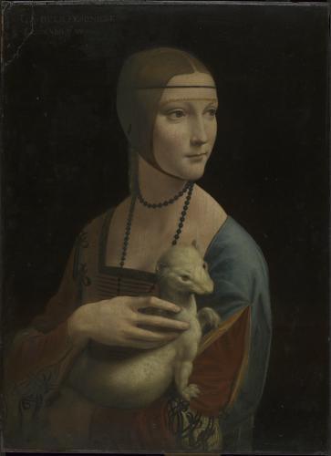 Leonardo da Vinci / Dáma s hranostajem